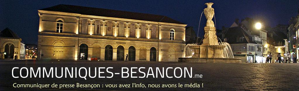 Communiqués de presse Besançon